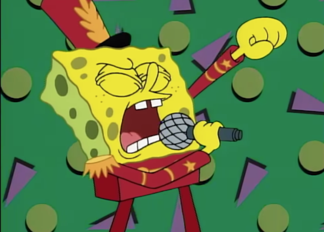 SpongeBob at the Super Bowl? (via Nickelodeon)