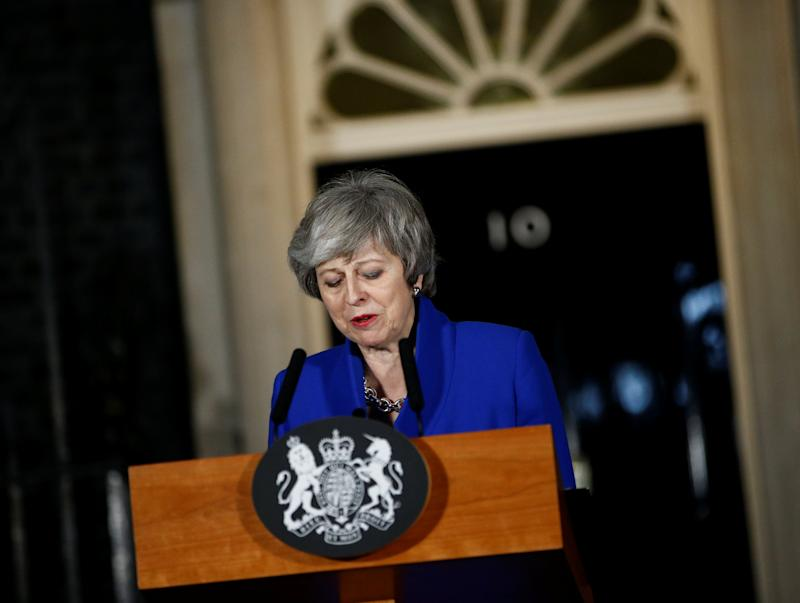 UK's May wants Irish treaty to break Brexit impasse: paper