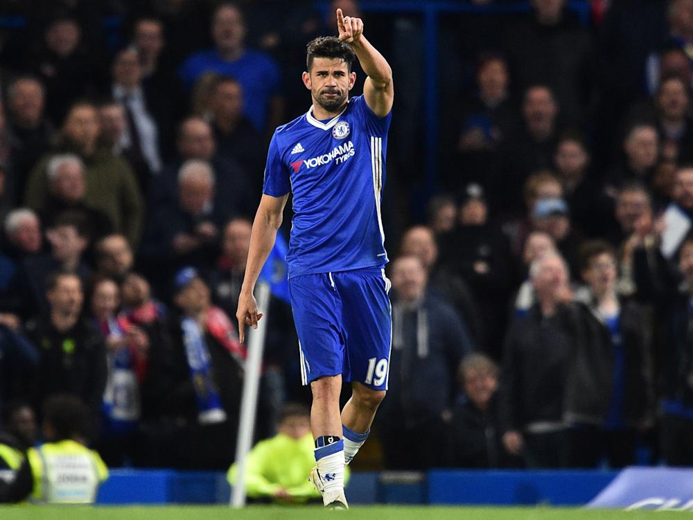 Diego Costa has repeatedly been linked with a move to the Chinese Super League: Getty