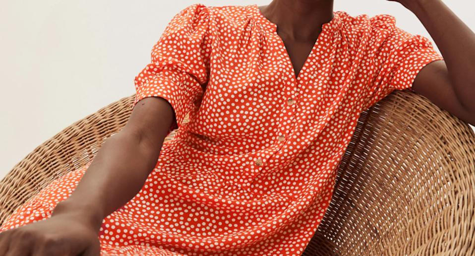 We think you'll love this statement dress. (Marks & Spencer)