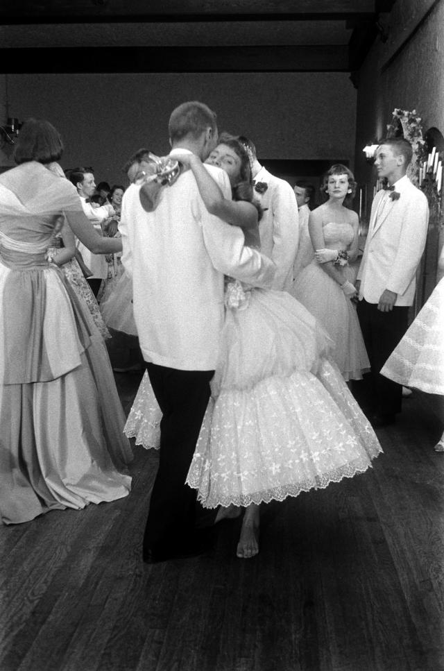 1960s: Students dancing at the Mariemont High School prom in Cincinnati. (Photo: Getty Images)