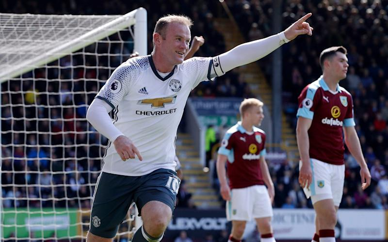 Wayne Rooney scored on his return to the starting line-up - PA