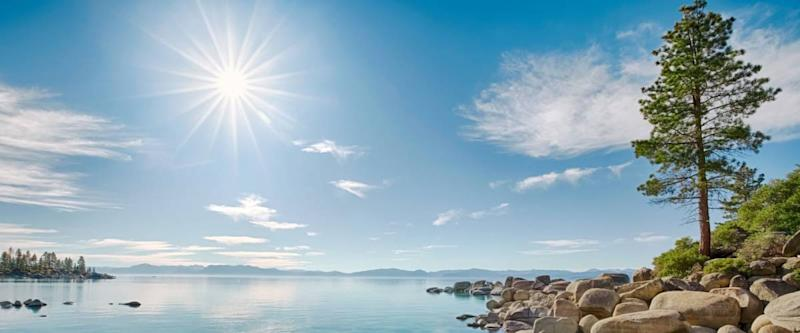 A lovely day at Lake Tahoe