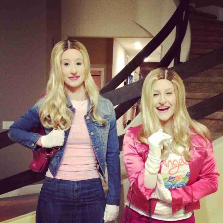 """<p>Iggy Azalea on Halloween in 2014. In 2014 she and a friend went as the characters from White Chicks in wake of Snoop Dogg's Instagram post reading """"White Chicks 2 featuring Iggy"""". (Photo: Instagram)</p>"""