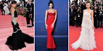 """<p>In the past couple of years, Bella Hadid has gone from <a href=""""http://www.harpersbazaar.com/fashion/street-style/g5973/gigi-hadid-style/"""" rel=""""nofollow noopener"""" target=""""_blank"""" data-ylk=""""slk:Gigi's"""" class=""""link rapid-noclick-resp"""">Gigi's</a> little sister to a full-fledged model in her own right. Besides walking big-name shows from Versace to Ralph Lauren, she's also flaunting some serious personal style—one that's equal parts sexy and sporty. Catch her in crop tops (with abs like hers, why not?) and track suits to thigh-high slit gowns and mini skirts. Flip through to track the rising model's hot off-duty style.</p>"""