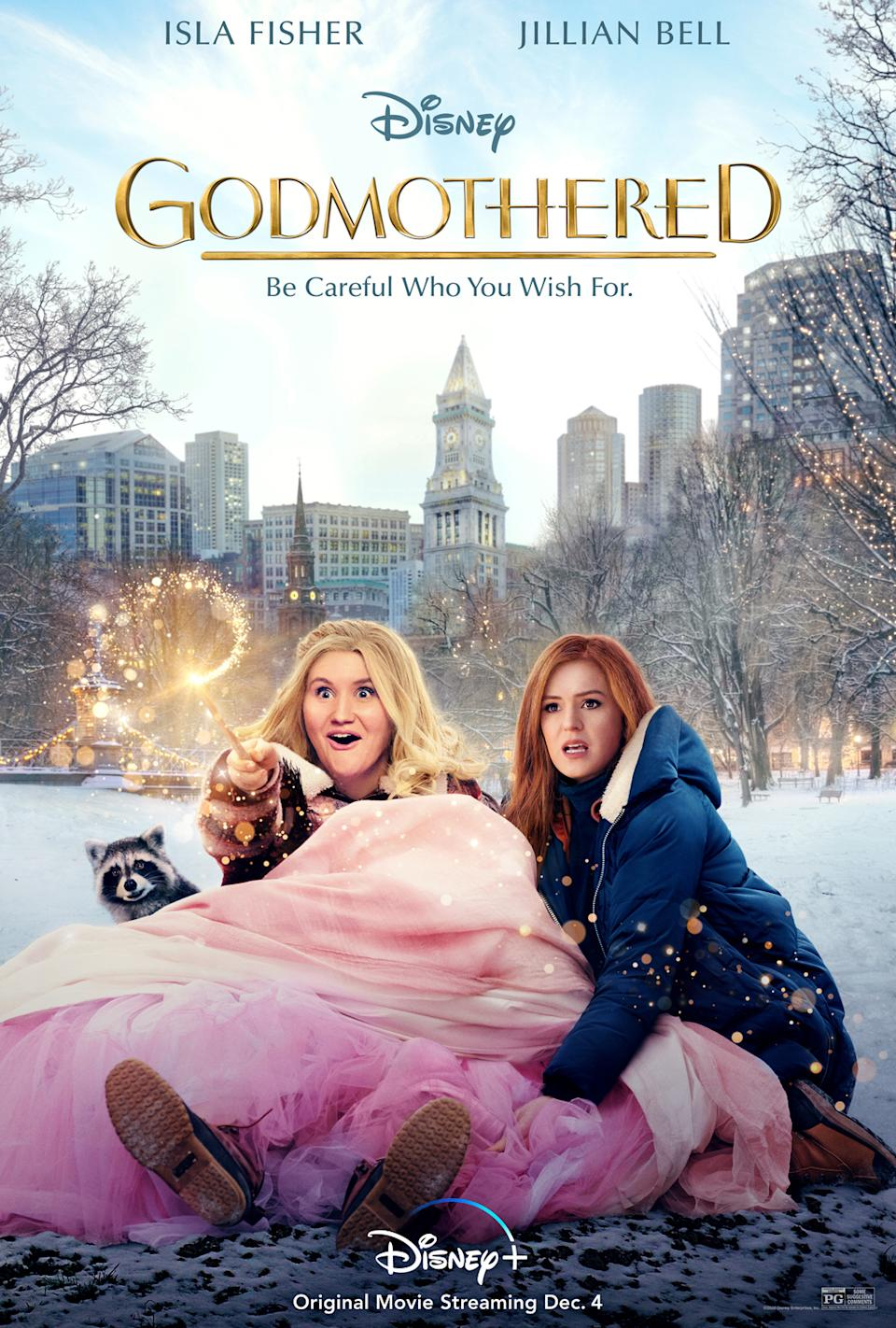 The poster art for Disney+ exclusive Godmothered. (Disney)