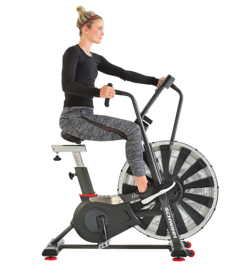 Schwinn Airdyne AD7 Upright Bike (Photo via Best Buy Canada)