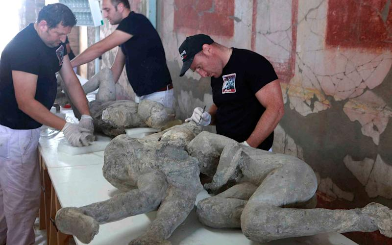 "The bodies were dubbed ""The Two Maidens"" - Credit:  Fotonews / Splash News / Renna"