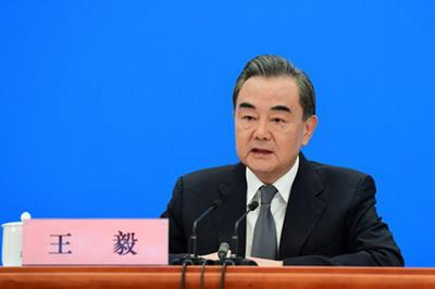China's Foreign Minister Wang Yi warned nations to stay out of the country's internal matters.