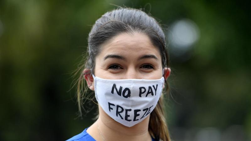 NSW PUBLIC SERVICE WAGES PROTEST