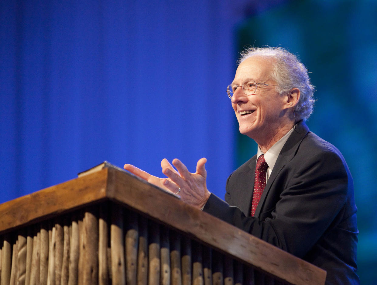 John Piper speaking in Capetown, South Africa, in 2010. (Photo: Micah Chiang via Flickr)