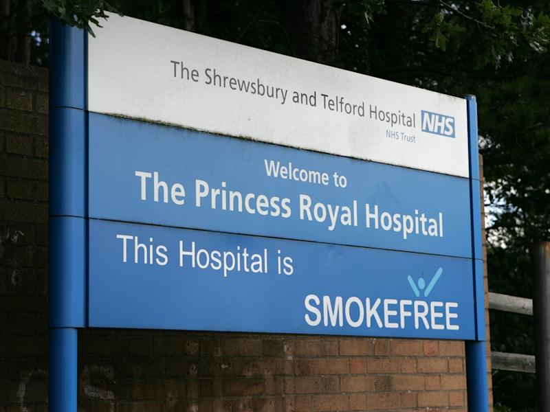 """West Mercia Police has said it has considered a """"range of criminal charges"""" against Shrewsbury and Telford Hospitals Trust: Alamy"""