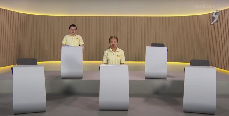 Reform Party constituency party broadcast for Ang Mo Kio GRC. (PHOTO: Screenshot/YouTube)