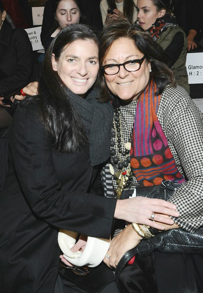 NEW YORK, NY - FEBRUARY 15:  (L-R) Mary Kennedy and Fern Mallis attend Mercedes-Benz Fashion Week Fall 2011 at Lincoln Center on February 15, 2011 in New York City.  (Photo by Michael Buckner/Getty Images for Mercedes-Benz)