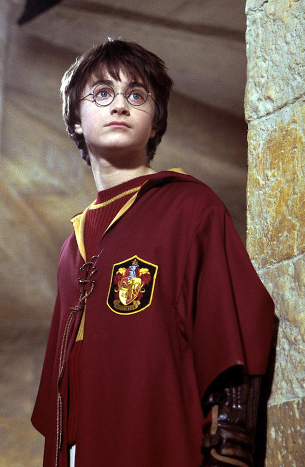 """MOVIE: """"<a href=""""http://movies.yahoo.com/movie/1807858489/info"""">Harry Potter and the Chamber of Secrets</a>"""" (2002)  AGE: 13"""