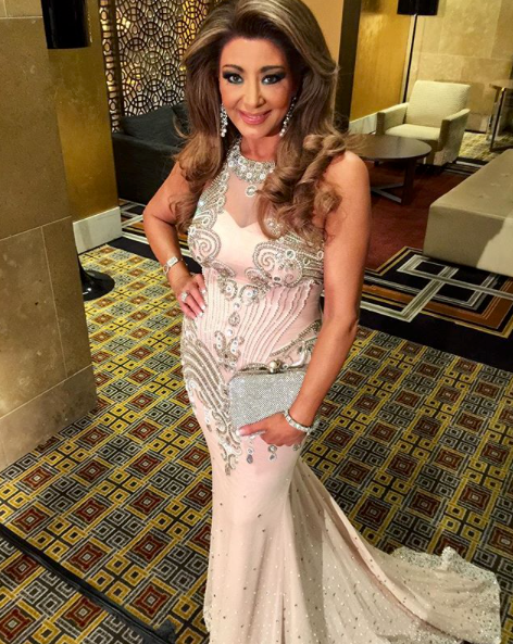 Gina Liano attends the Save Our Sons charity gala at the Crown Casino in Melbourne. Source: Instagram/ginaliano