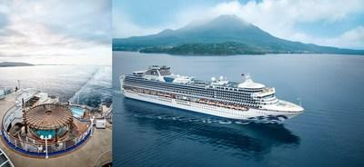 New Upgrades Debut Onboard Diamond Princess