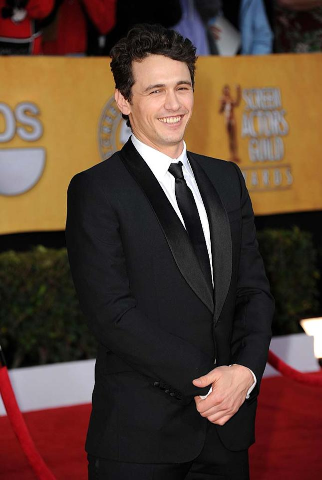 "April 19: James Franco turns 33 Jason Merritt/<a href=""http://www.gettyimages.com/"" target=""new"">GettyImages.com</a> - January 30, 2011"