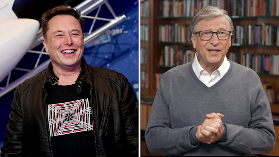These two billionaires share one thing in common. (Source: Getty)