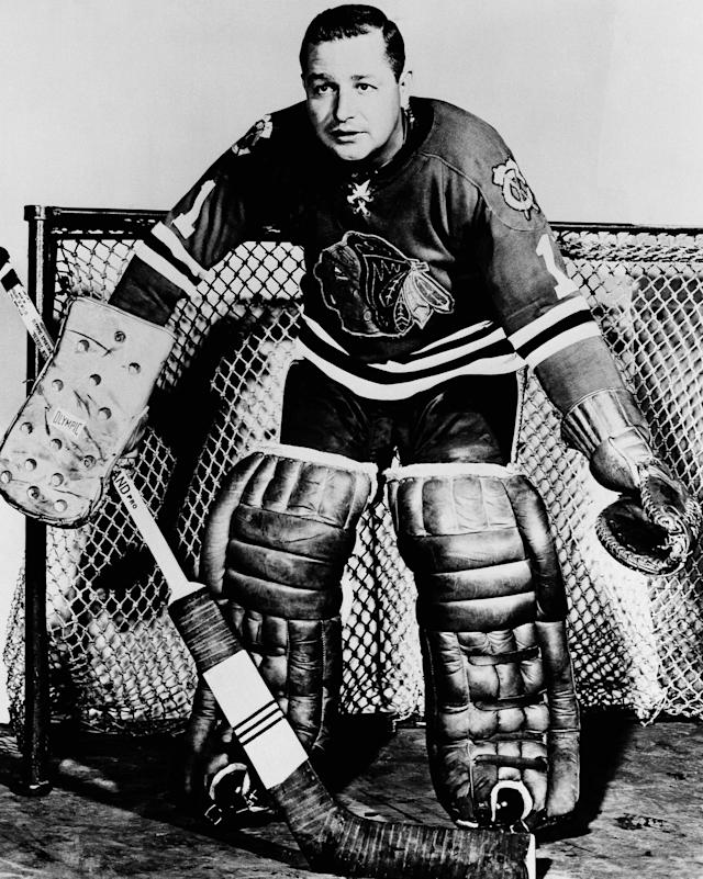 <p>Glenn Hall is the only goaltender on the list, holding perhaps the most unbeatable record of them al — 502 straight starts for the Chicago Blackhawks. His career spanned 906 games with the Red Wings, Blackhawks and Blues before he was inducted to the Hockey Hall of Fame in 1975. </p>