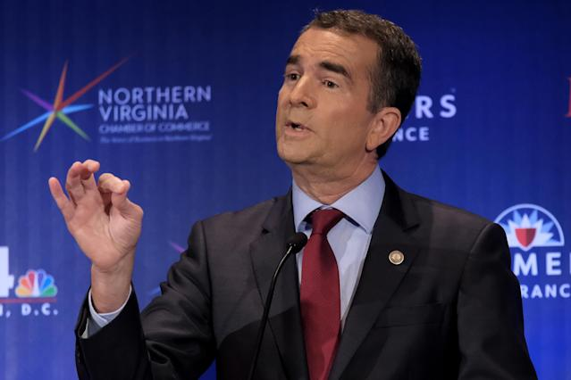 Democrat Ralph Northam shares his view on Confederate monuments during gubernatorial debate. (Photo: Washington Post)