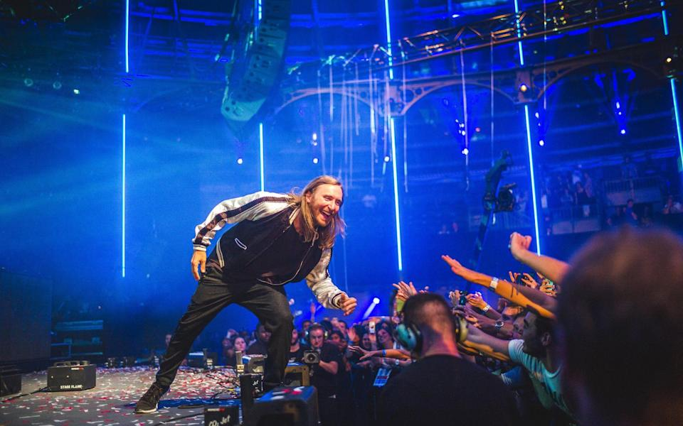 David Guetta has a catalogue of songs known all the way from Liverpool to Lima