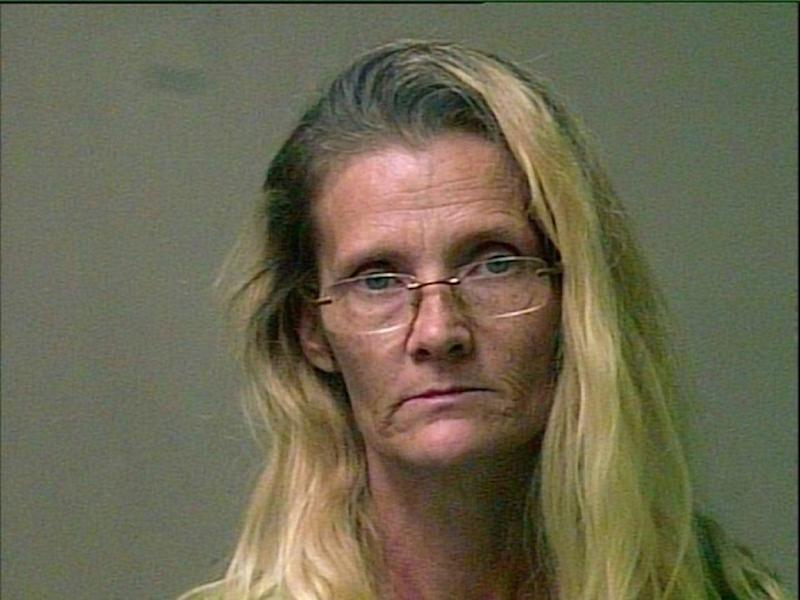 Robinson painted her hands green, wore a wig and a mask to evoke her alter-ego 'Nelda': Oklahoma City Police