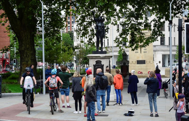 Poetic justice? Toppled slaver's statue replaced by one of Black protester in UK