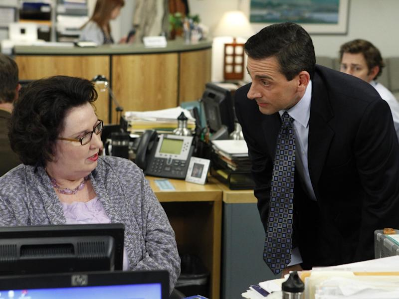 Still from The Office (2005): Rex Features/NBC