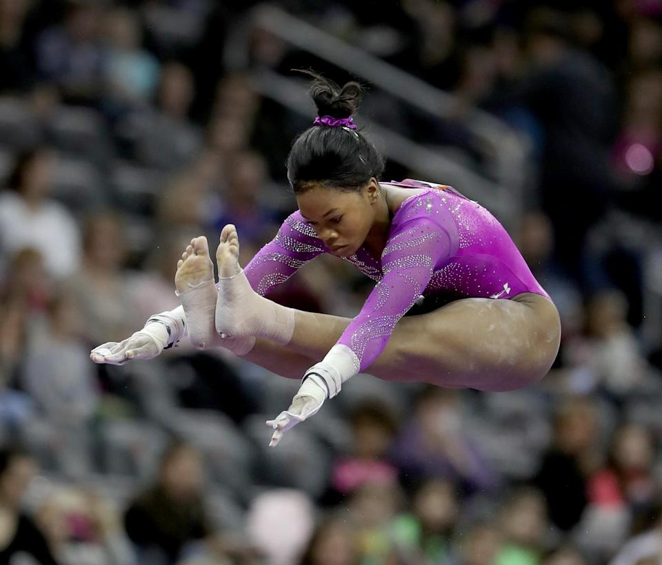 <p>She struggled in the 2016 U.S. Olympic Trials. Like the fighter she's known to be, she overcame those challenges and is expected to contribute major points in these Games. (Getty) </p>
