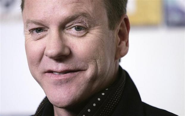 Kiefer Sutherland arrives for the Fox TV premiere of 'Touch' at the Museum of Natural History in New York March 18, 2012.