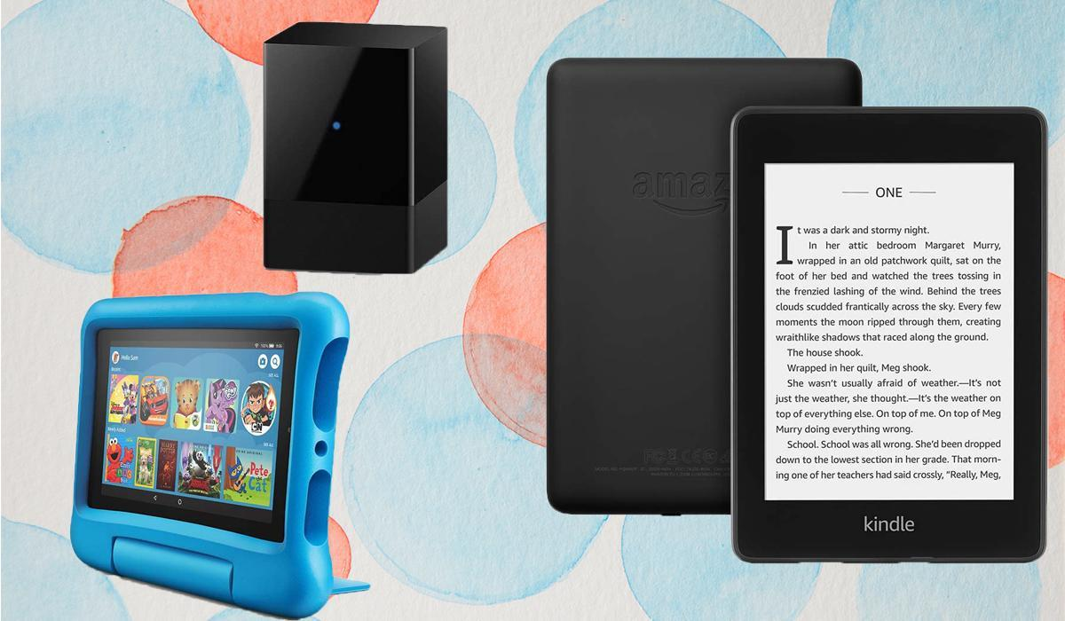 From tablets to TVs, this tucked-away Amazon section is poppin' with Fire 7 Kids, Fire TV Blaster and Kindle Paperwhite tablet secret sales! (Photo: Amazon)