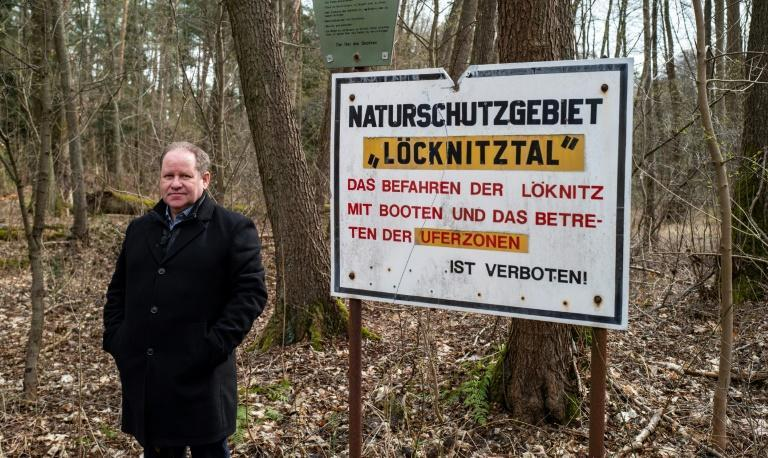 Local environmental activist Steffen Schorcht has been a leading voice against the construction of Tesla's factory near a protected forest outside of Berlin