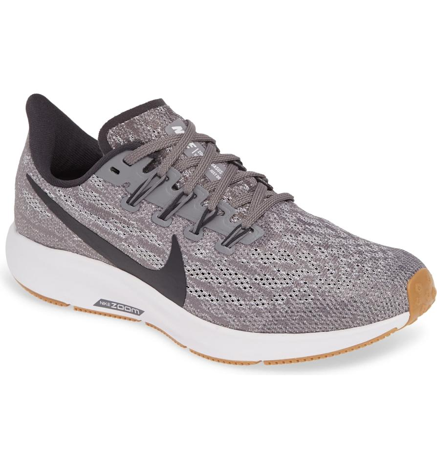 "<p>Looking for something comfy, functional, and affordable? Get this <a href=""https://www.popsugar.com/buy/Nike-Air-Zoom-Pegasus-36-Running-Shoe-491900?p_name=Nike%20Air%20Zoom%20Pegasus%2036%20Running%20Shoe&retailer=shop.nordstrom.com&pid=491900&price=120&evar1=fit%3Aus&evar9=45550264&evar98=https%3A%2F%2Fwww.popsugar.com%2Fphoto-gallery%2F45550264%2Fimage%2F45550368%2FNike-Air-Zoom-Pegasus-36-Running-Shoe&list1=nordstrom%2Csneakers%2Crunning%20shoes%2Cfitness%20gear%2Cfitness%20shopping&prop13=api&pdata=1"" rel=""nofollow"" data-shoppable-link=""1"" target=""_blank"" class=""ga-track"" data-ga-category=""Related"" data-ga-label=""https://shop.nordstrom.com/s/nike-air-zoom-pegasus-36-running-shoe-women/5115363?origin=category-personalizedsort&amp;breadcrumb=Home%2FWomen%2FShoes%2FSneakers%20%26%20Athletic%2FAthletic&amp;color=racer%20blue%2F%20aqua%2F%20aurora%20green"" data-ga-action=""In-Line Links"">Nike Air Zoom Pegasus 36 Running Shoe</a> ($120). It comes in so many colors. </p>"