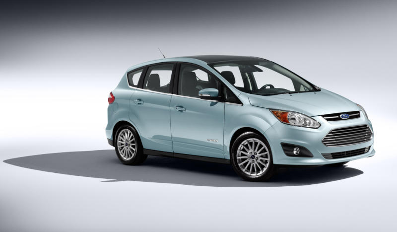 C-Max Hybrid: A Ford challenges Prius