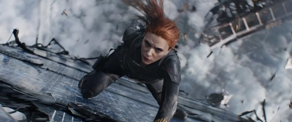 Scarlett Johansson holding strong as Black Widow (Image by Marvel)