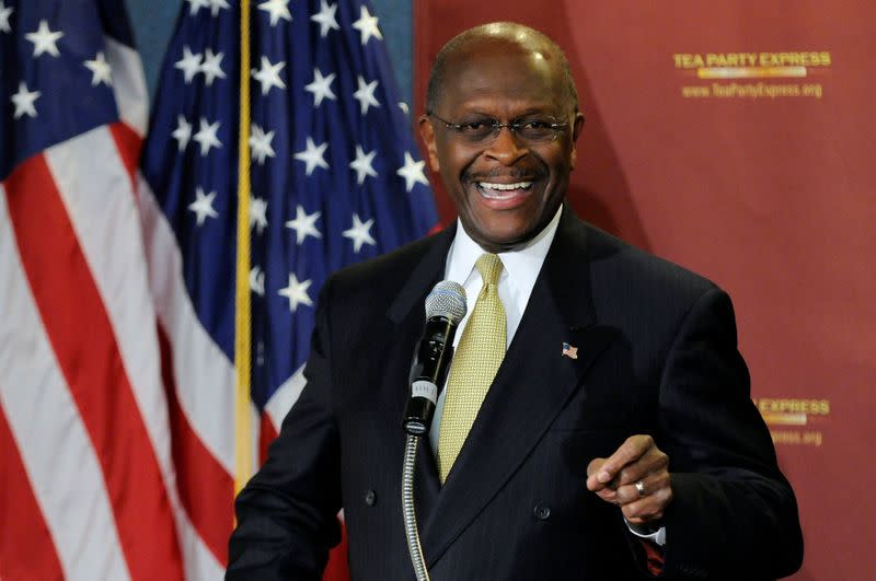 Herman Cain, 2012 Republican presidential candidate, hospitalized with coronavirus