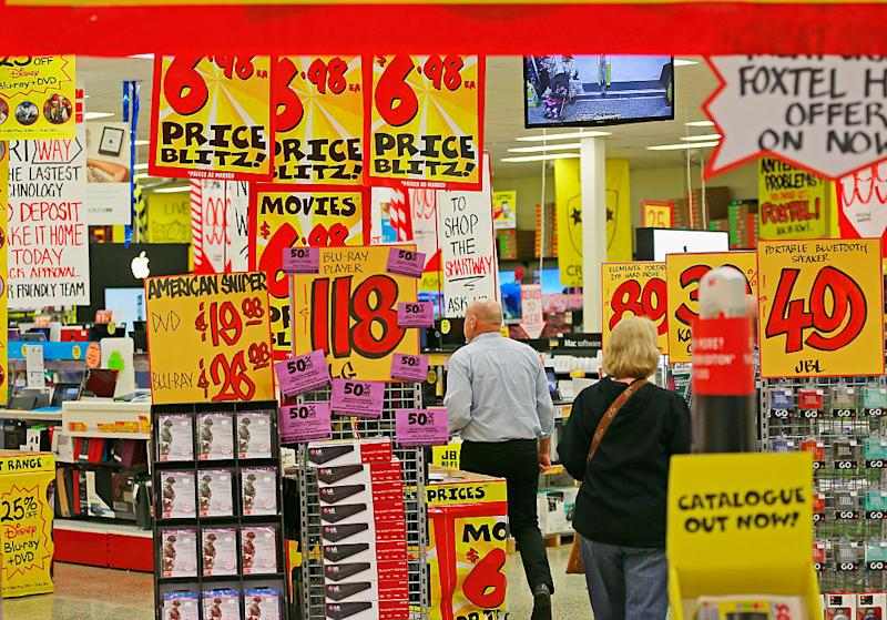 JB Hi-Fi has announced a huge sale. Image: Getty