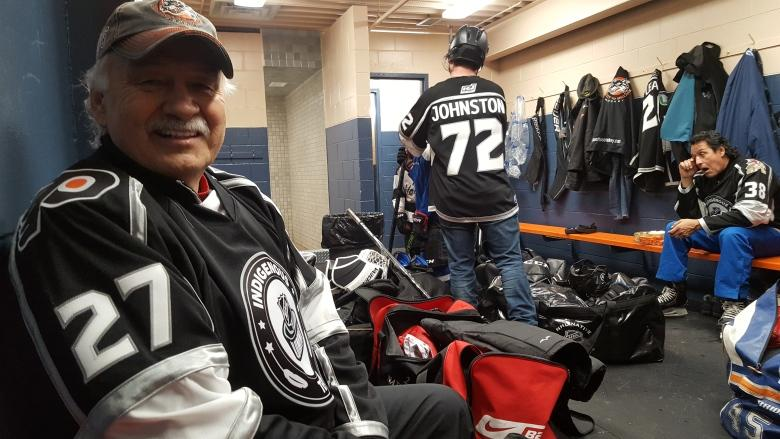 Indigenous NHL alumni hit the ice in Yukon to inspire local youth
