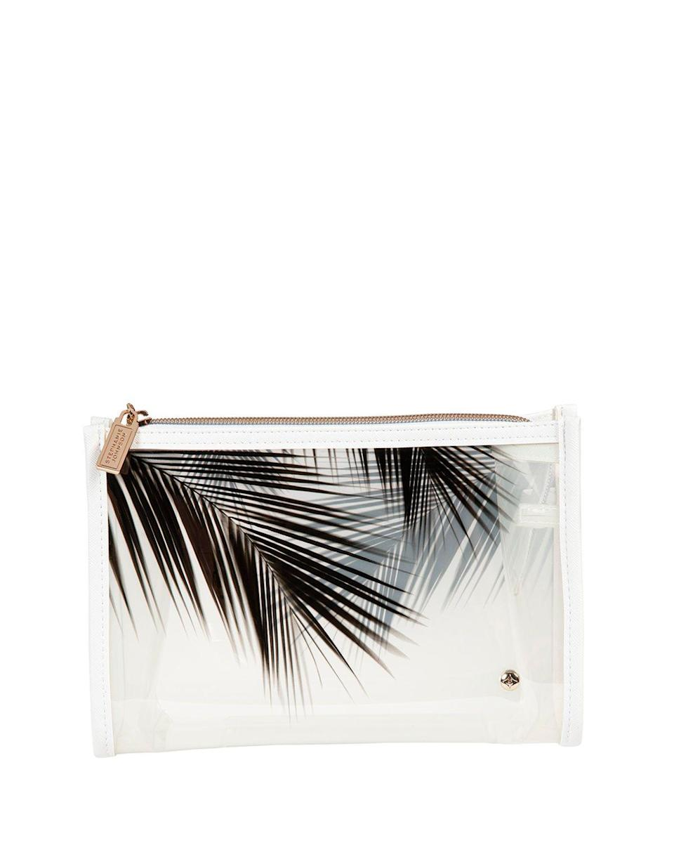 """<p><strong>Stephanie Johnson</strong></p><p>https://www.neimanmarcus.com</p><p><strong>$35.00</strong></p><p><a href=""""https://go.redirectingat.com?id=74968X1596630&url=https%3A%2F%2Fwww.neimanmarcus.com%2Fp%2Fstephanie-johnson-miami-medium-zip-cosmetic-prod234880054&sref=https%3A%2F%2Fwww.womansday.com%2Frelationships%2Ffamily-friends%2Fg27191135%2Flast-minute-mothers-day-gifts%2F"""" rel=""""nofollow noopener"""" target=""""_blank"""" data-ylk=""""slk:Shop Now"""" class=""""link rapid-noclick-resp"""">Shop Now</a></p><p>You know that old, concealer-covered bag that holds just about everything in her medicine cabinet? It's time for an upgrade. This piece from Stephanie Johnson is translucent, so she can see everything inside, and also stands upright for easy access.</p>"""