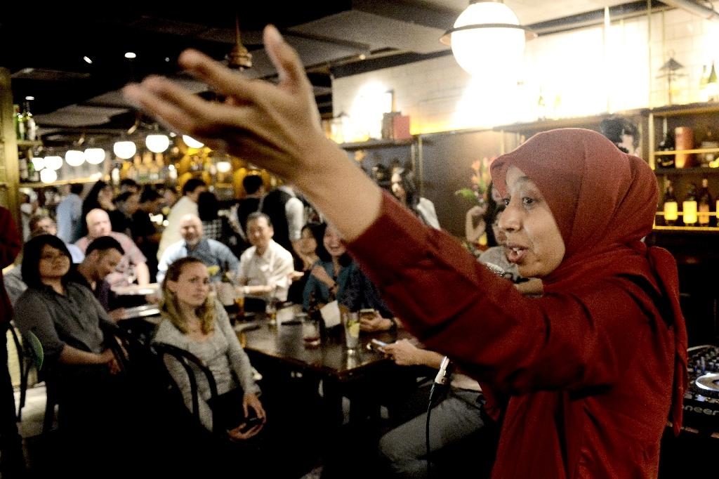 Female Muslim comic stands up to extremism in Indonesia