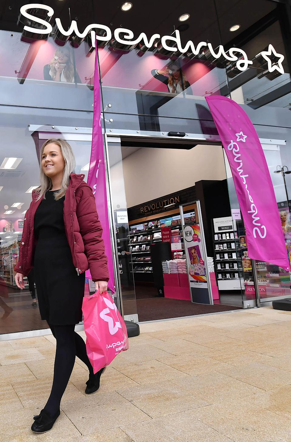 A Superdrug store (PA Archive)