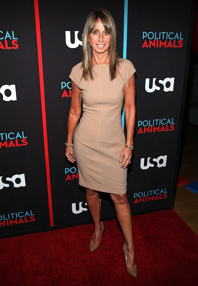 """Bonnie Hammer attends the """"Political Animals"""" premiere at The Morgan Library & Museum on June 25, 2012 in New York City."""