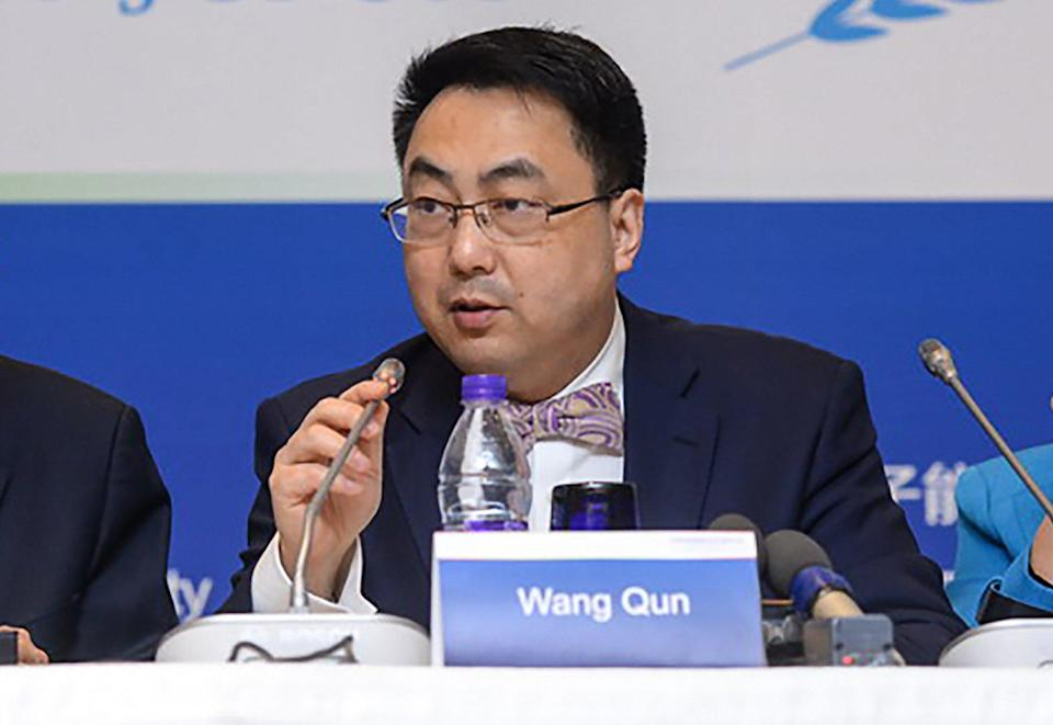 Wang Qun, China's envoy to the United Nations and other international organisations in Vienna. Photo: Chinese foreign ministry