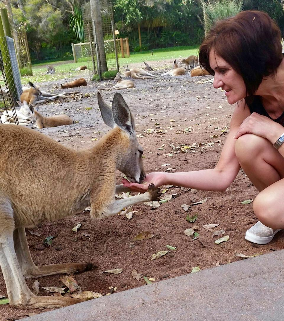 One of Gillian's bucket list adventures was to travel to Australia. (Collect/PA Real Life)