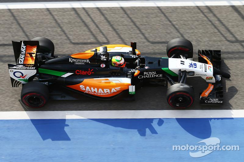 "2014-Sahara Force India-VJM07<span class=""copyright"">XPB Images</span>"