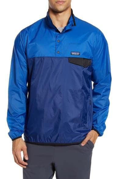 <p>You can never go wrong with a windbreaker, but this <span>Patagonia Houdini Regular Fit Quarter Snap Pullover</span> ($99) is extra durable, and, super fashionable. </p>
