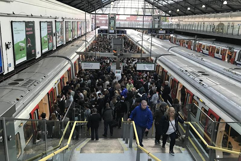 Travel chaos: Signal failures cause problems on major London Undergound lines