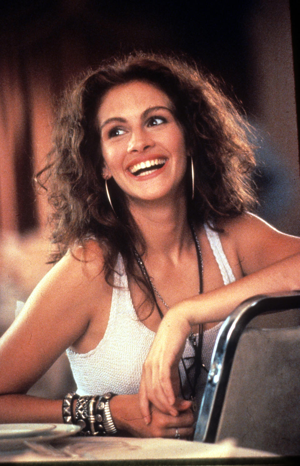 Julia Roberts in a scene from the film 'Pretty Woman', 1990. (Photo by Buena Vista/Getty Images)
