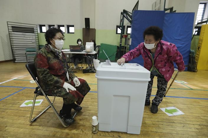 South Korea's ruling party takes landslide general election victory